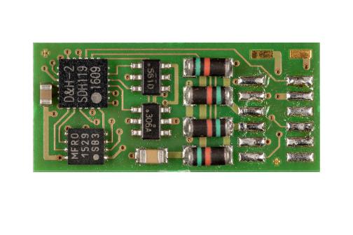 Doehler /& Haass PD12A-3 Fahrzeugdecoder DCC mit 9 Anschlusslitzen ca 145 mm